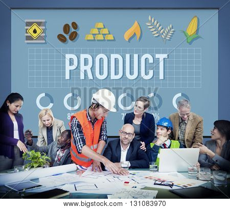 Product Branding Result Strategy Supply Business Concept