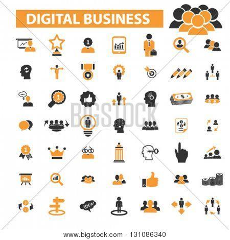 digital marketing icons
