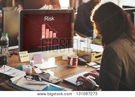 Risk Gamble Opportunity SWOT Weakness Unsure Concept