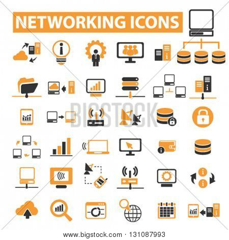 networking icons