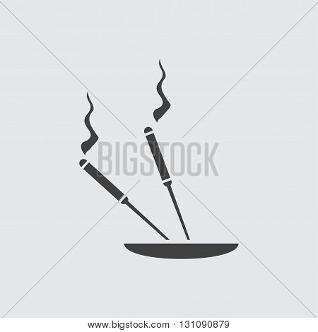 Aroma stick icon illustration isolated vector sign symbol