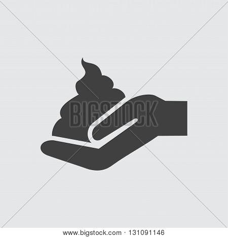 Shaving foam icon illustration isolated vector sign symbol