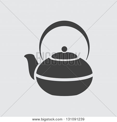 Kettle icon illustration isolated vector sign symbol