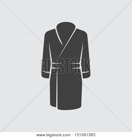 Bathrobe icon illustration isolated vector sign symbol