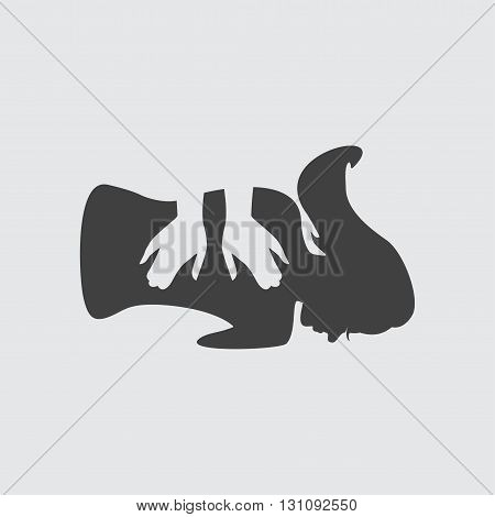Massage icon illustration isolated vector sign symbol