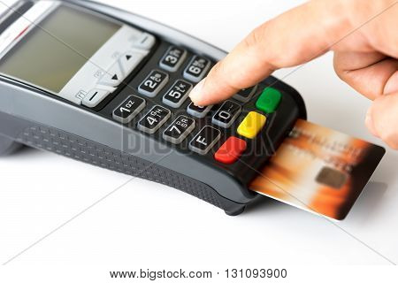 Credit card payment buy and sell products & service
