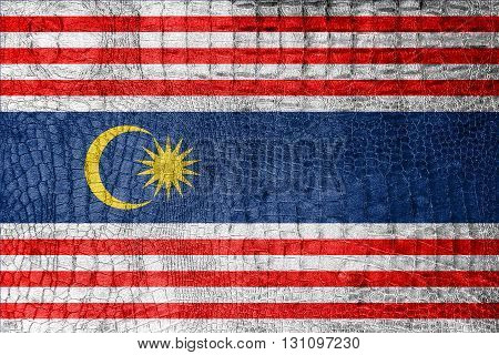 Flag Of Kuala Lumpur, On A Luxurious, Fashionable Canvas