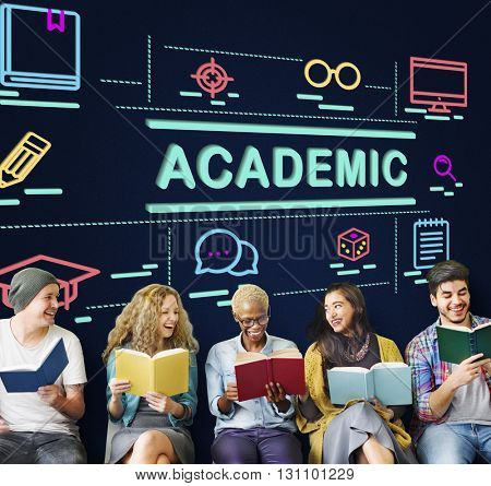 Academic Campus College Degree Diploma Study Concept