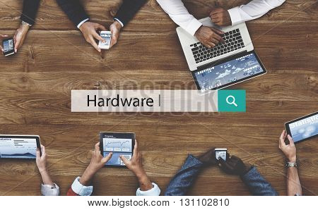 Hardware Computer Device Desktop Electronic Concept