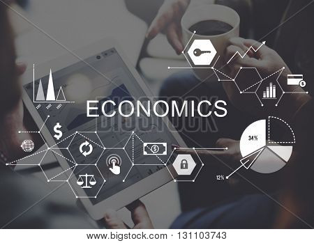 Economics Investment Profit Revenue Savings Concept