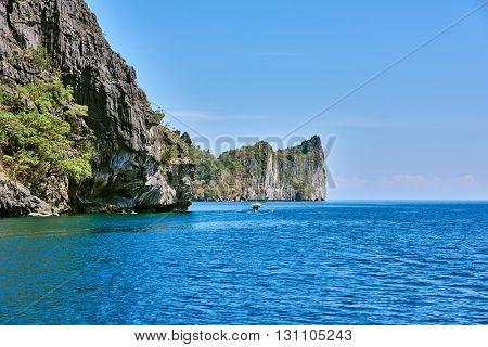 Cadlao island El Nido Palawan Philippines