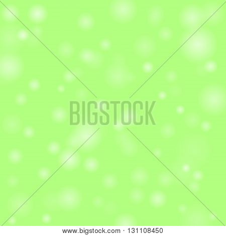 Colorful background with bright bokeh and particles