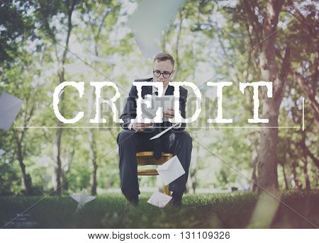 Credit Finance Economy Money Profit Concept