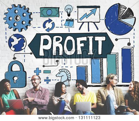 Business Statistics Analysis Data Growth Concept