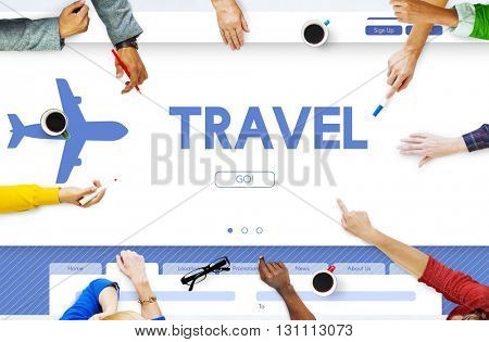 Travel Tour Vacation Holidays Transportation Concept