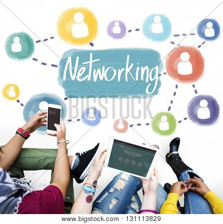 Networking Connection Computer System Internet Concept