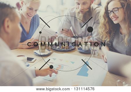 Business Team Talking Meeting Strategy Concept