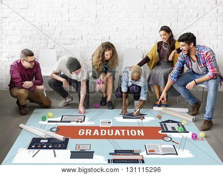 Graduation Academic Education Learning Wisdom Concept