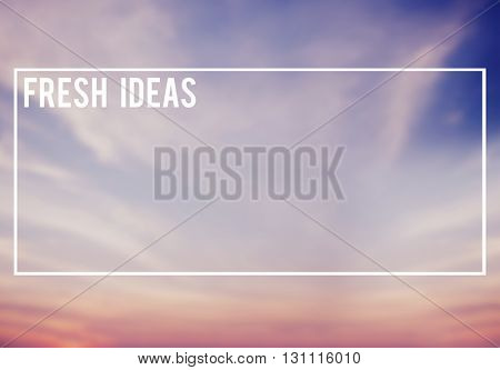 Blue and Pink Sky Background Fresh Ideas Concept