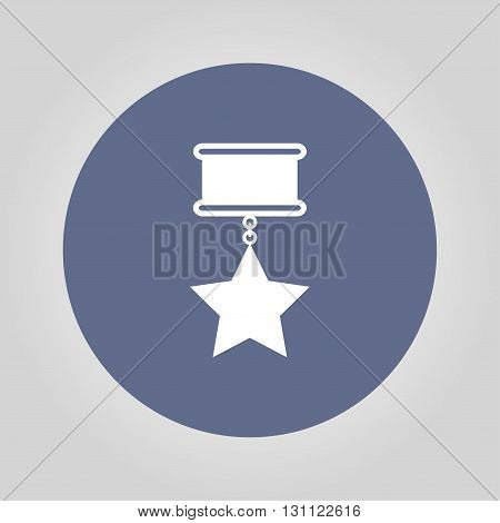 medal icon. Flat design style EPS 10