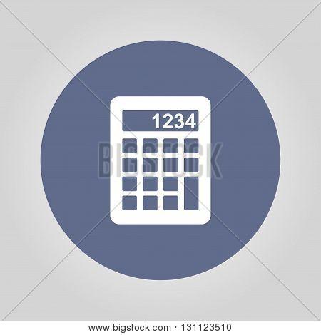 Calculator icon. Modern design flat style icon.