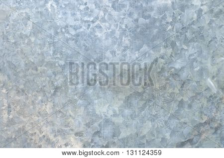 Texture and art of galvanized iron for background.