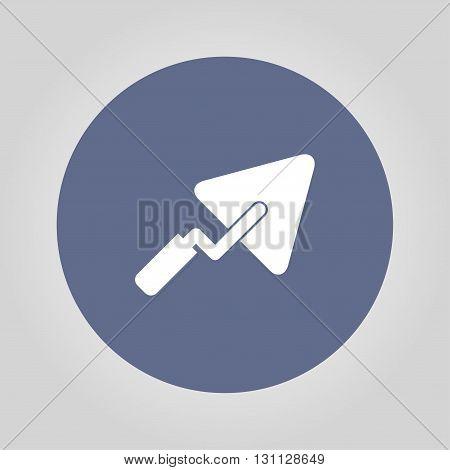 trowel icon. Flat design style eps 10