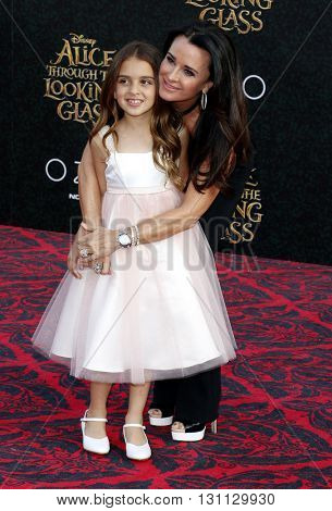 Kyle Richards at the Los Angeles premiere of 'Alice Through The Looking Glass' held at the El Capitan Theater in Hollywood, USA on May 23, 2016.