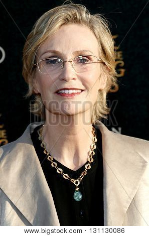 Jane Lynch at the Los Angeles premiere of 'Alice Through The Looking Glass' held at the El Capitan Theater in Hollywood, USA on May 23, 2016.
