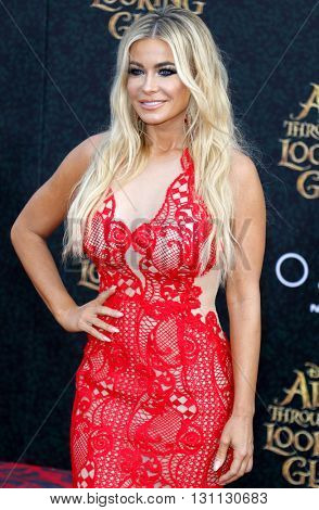 Carmen Electra at the Los Angeles premiere of 'Alice Through The Looking Glass' held at the El Capitan Theater in Hollywood, USA on May 23, 2016.