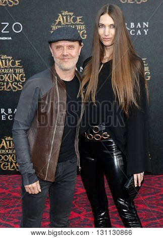 Lars Ulrich at the Los Angeles premiere of 'Alice Through The Looking Glass' held at the El Capitan Theater in Hollywood, USA on May 23, 2016.