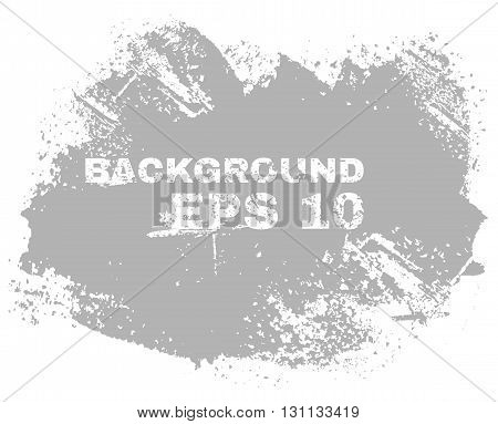 Grunge textured walls, painting the walls, paint brush. Premium quality vector illustration