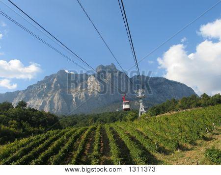 View Of Mountain Ai-Petri.