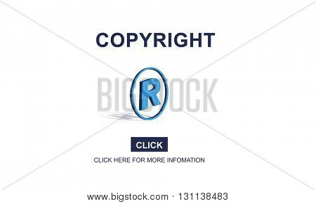 Copyright Brand Business Design Identity Patent Concept