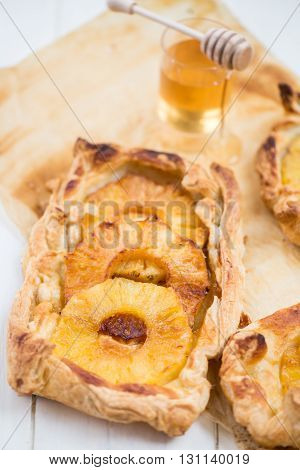 Homemade Honey-glazed Pineapple Tarts