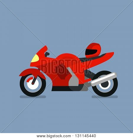 Motorcycle Vector Illustration. Vector Motorcycle. Motorcycle Festival. Motorcycle Race. Drive Motor