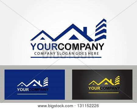 Home sales design for your company , house for rent