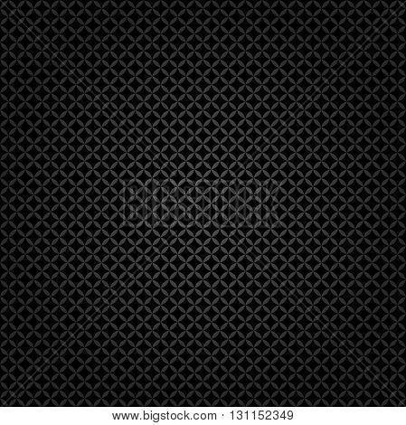 Seamless geometric modern vector pattern. Fine ornament with black elements