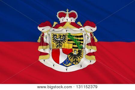 Flag of Liechtenstein officially the Principality of Liechtenstein is a doubly landlocked German-speaking microstate in Central Europe.