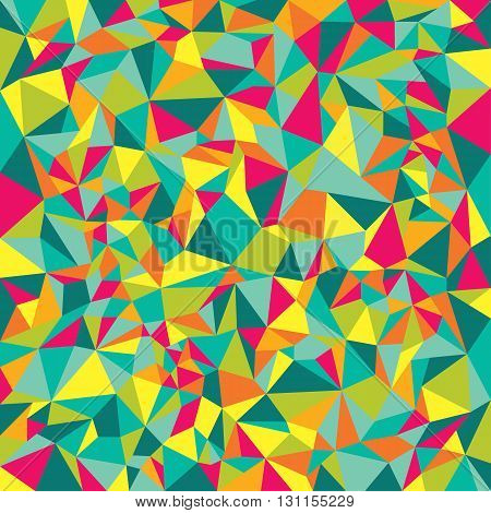 Abstract polygonal low poly banners. Abstract seamless pattern. Geometric backdrop. Polygonal crystal texture. Triangular texture.