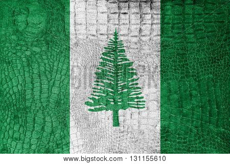 Flag Of Norfolk Island, On A Luxurious, Fashionable Canvas