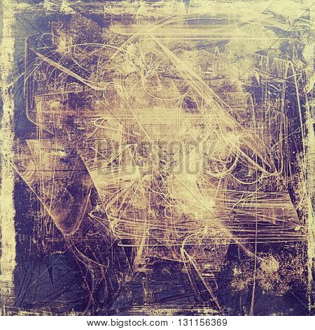 Grunge background for your design, aged shabby texture with different color patterns: yellow (beige); brown; blue; gray; purple (violet)