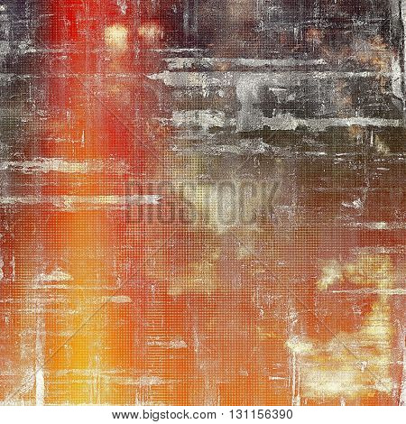 Colorful scratched background or grungy texture. With different color patterns: yellow (beige); brown; red (orange); gray; white