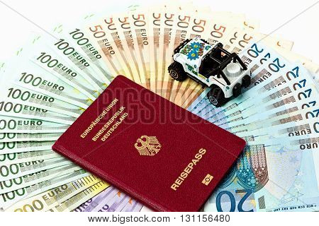 Travel Money As A Money Fan Of Euro Notes