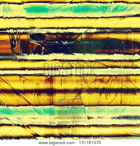 Art grunge background, vintage style textured frame. With different color patterns: yellow (beige); brown; green; blue; red (orange)