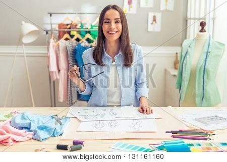 Beautiful Young Designer