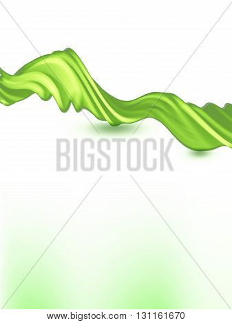 vector 3d effect waves, EPS10 with transparency
