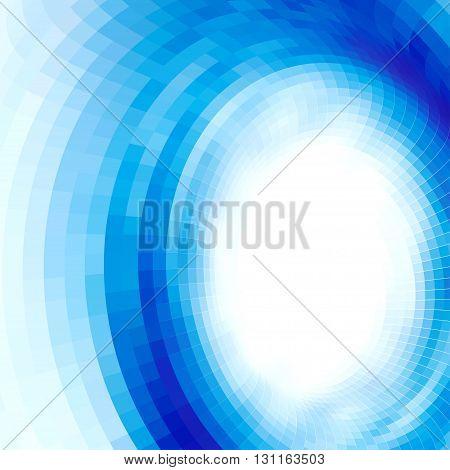 abstract vortex, vector op art, gradient effect without gradient