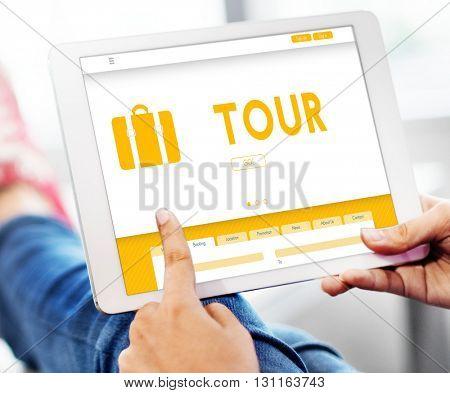 Tour Tourism Traveling Exploration Destination Concept