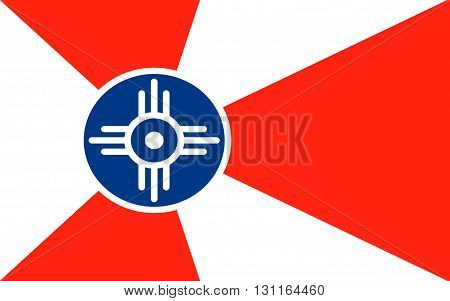 Flag of Wichita is the largest city in the State of Kansas and the 49th-largest city in the United States